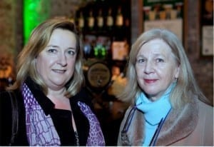 Debbie McDonnell & Miriam Lee pictured at Business Achievers Live, Dublin in February 2013