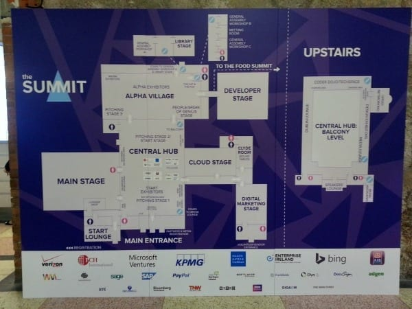 The Web Summit Plan, 30th - 31st October 2013