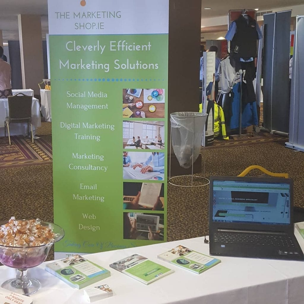The Marketing Shop at Biz Expo 2018 Citywest Hotel Dublin