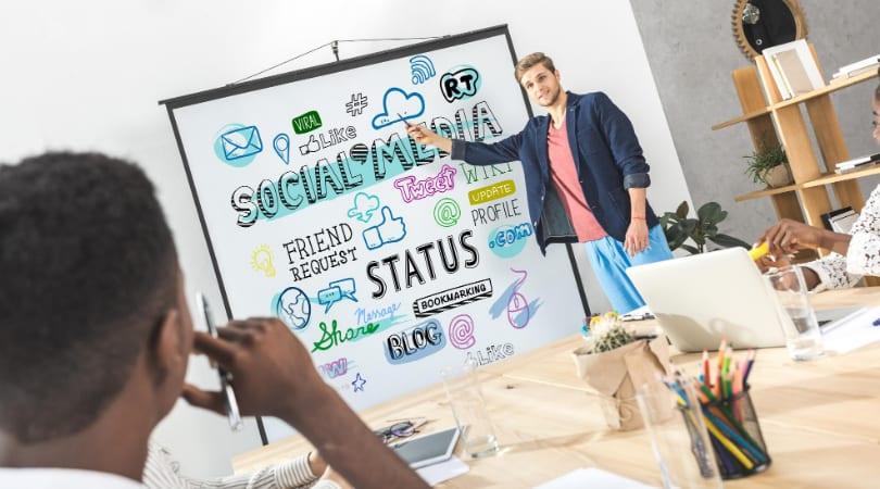social media training by the marketing shop ireland 2021